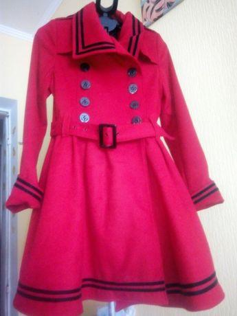Морской стиль пальто стильное
