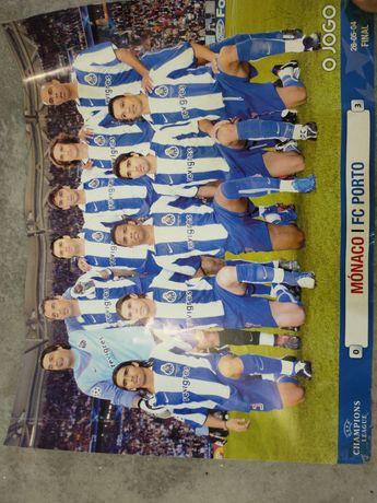 Posteres FCPorto Vencedor Liga dos Campeões 2003/2004