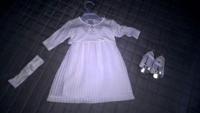 Sukienka cocodrillo z bucikami
