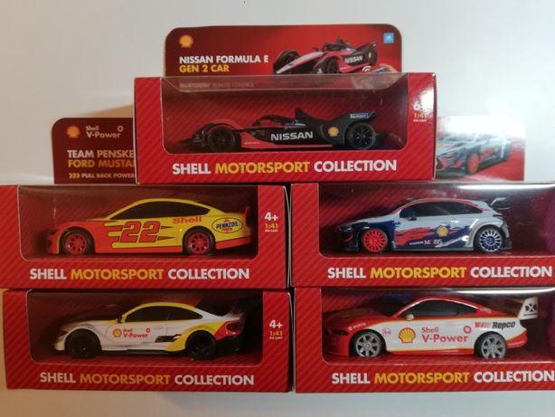 Shell Motorsport 2020 Auta Autka (5 szt) samochody