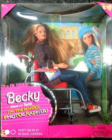 Becky a amiga cadeirante da Barbie