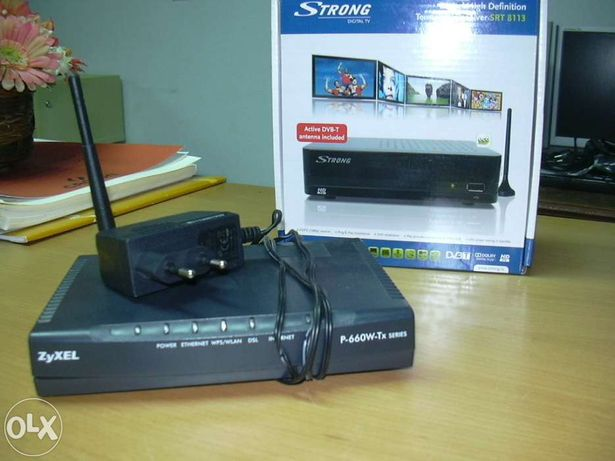 Router zyxel p-660hw-t1