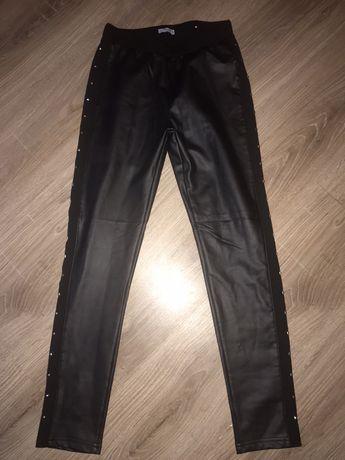 Mayoral кожаные брюки новые