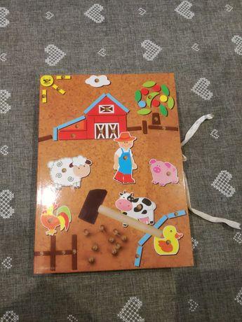 Zabawka dla dzieci - Przybijanka Farma