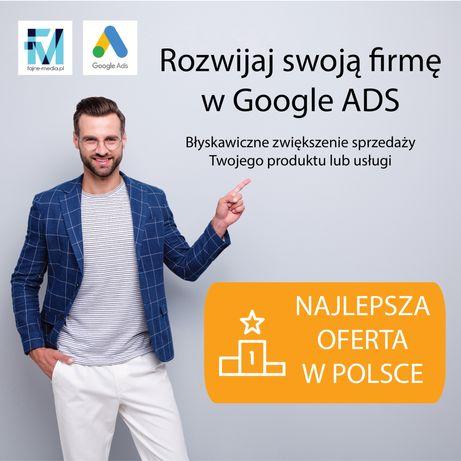 Skuteczna reklama w Google - na pierwszej stronie! - Google Ads