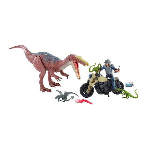 Jurassic park baryonyx набор барионикс динозавр Оуэн