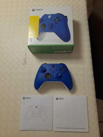Garantia 03/2023 - Comando Xbox One / Xbox Series Shock Blue