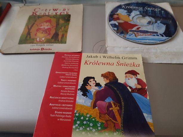 Bajki dla dzieci na płytach DVD.