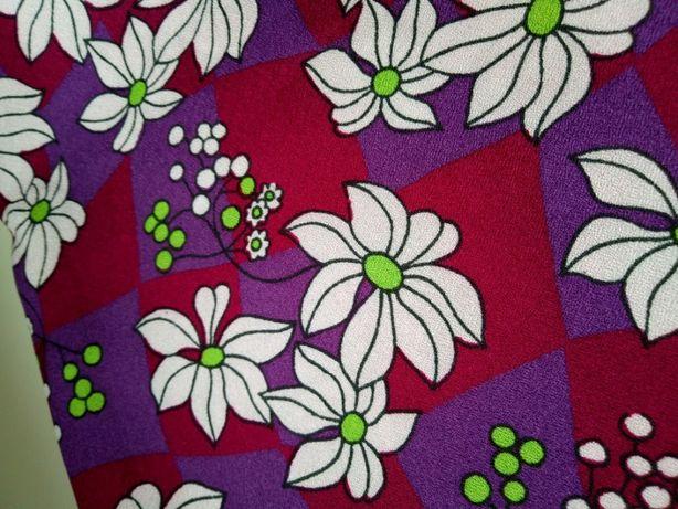 Ткань шелк искусственный качество СССР 90см 3м