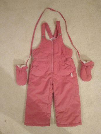 Spodnie narciarskie dla dziewczynki,  rozm.  86 - 92