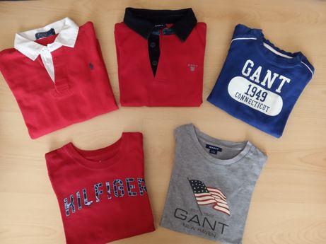 Camisolas e pólos das marcas Tommy Gant 4 anos