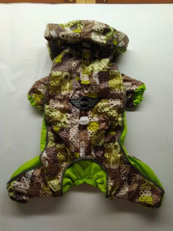 Комбинезон для чихуашки на натуральной байке