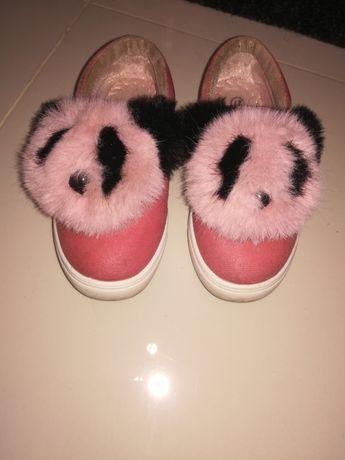 Trampki buty z misiem 27