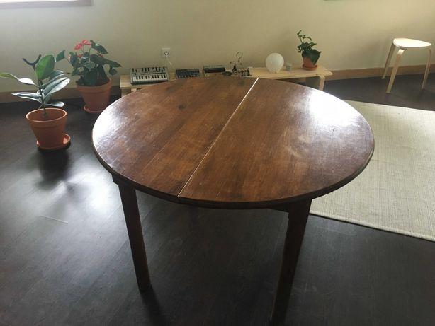 mesa de jantar extensível vintage