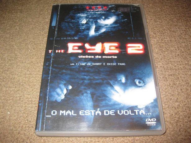 """DVD """"The Eye 2 - Visões de Morte"""" Raro!"""