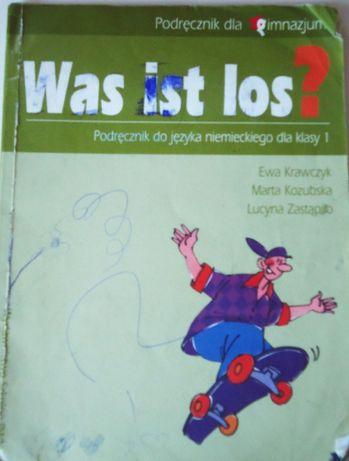 Was ist los? Podręcznik do j. niemieckiego klasa 1