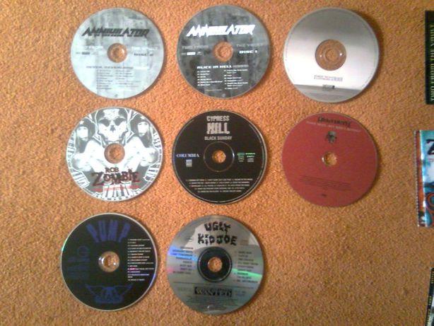 Oryginalne płyty cd z wkładkami bez pudełek