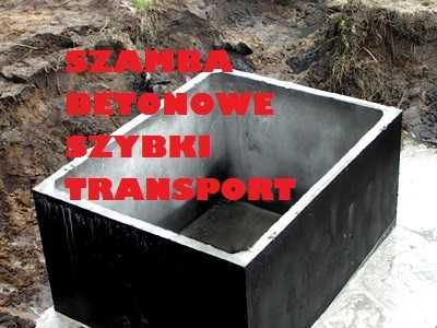 Szambo Betonowe 10000l na gnojowice Betonowy Zbiornik odchody ścieki