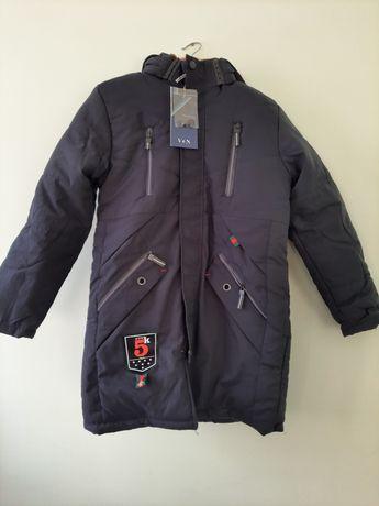 Новая куртка зимняя, мужская, размеры остались 44 (m), 46(xl).