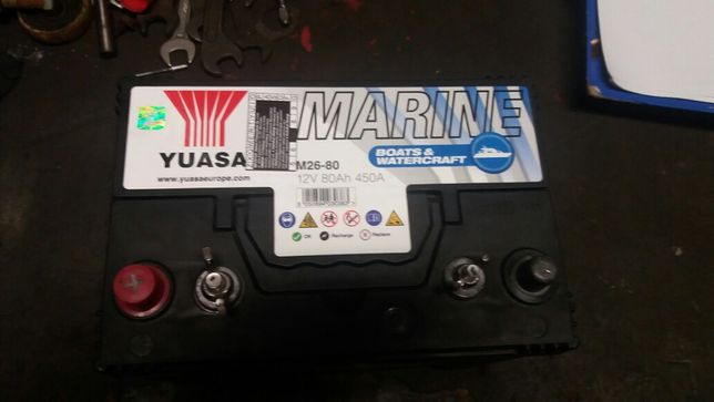 Akumulator YUASA M26-80 12v 80ah 450A