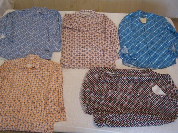 Nowe koszule flanelowe,nieużywane 5 szt,rozmiar 37-41