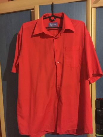 Czerwona koszula