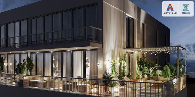 Двухкомнатная квартира с террасой