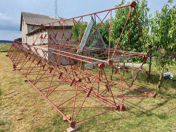 wieża telekomunikacyjna wolnostojąca maszt kratownicowy 36 m