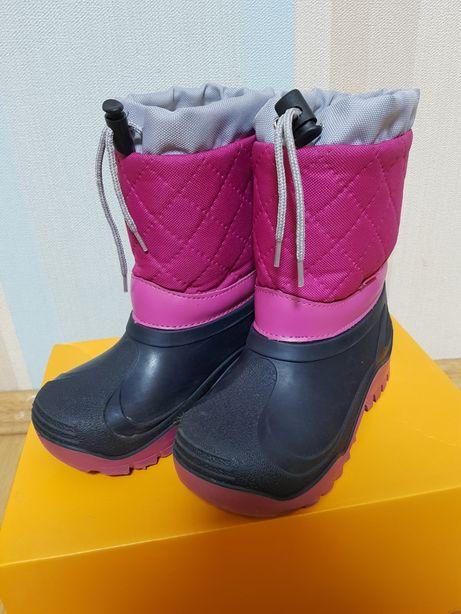 Сапожки сапоги ботинки, (резиновая калоша) зима, 27-28 р.