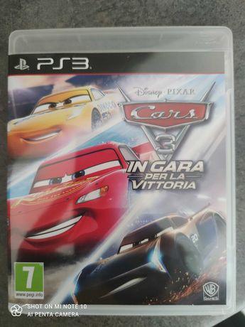 Gra CARS 3 Wysokie Obroty na PS3, polskie napisy