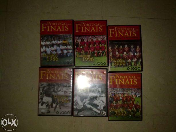 futebol filmes bola DVD Futebol Selecção portuguesa.
