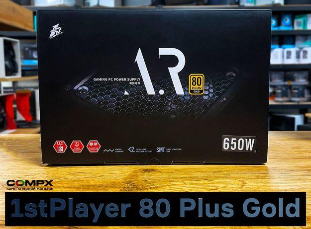 POWER! ПК блок питания 1stPlayer: 500/600/650/700/750W (80+) ATX