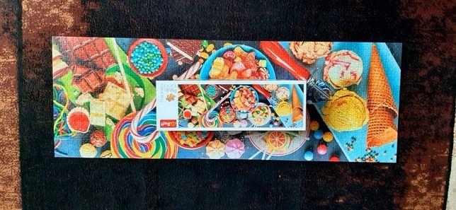 Puzzle 1000 trefl slodkie przysmaki.