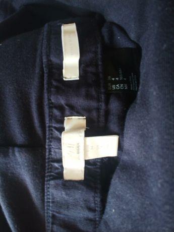 Spodnie ciazowe 36 z domieszka lnu