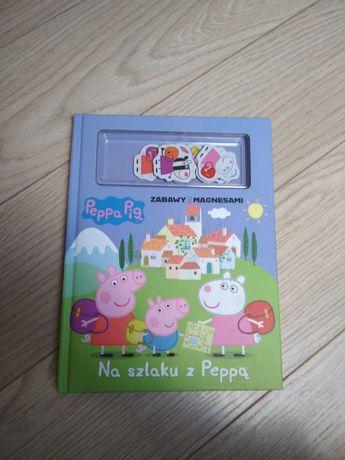 Książka Peppa zabawy z magnesami