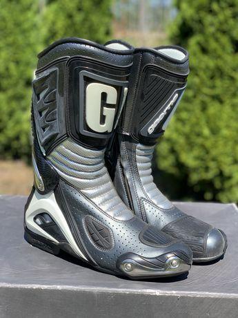 NOWE Buty motocyklowe GAERNE G-RW limited silver 41,42,46,47 wyprzedaz