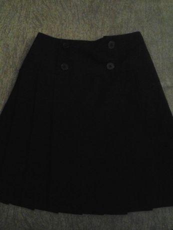 Юбка плисеровка школьная черная
