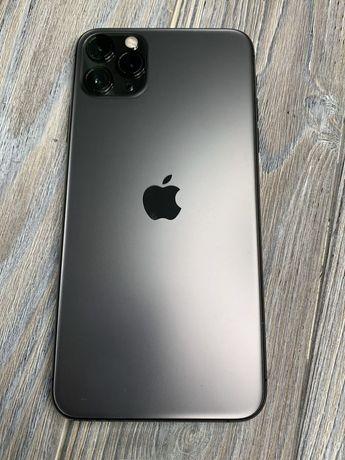 Новый iPhone 11 Pro Max 256GB space гарантия рассрочка EMOJIESTORE