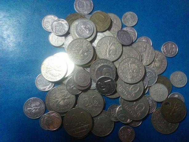 Stare polskie monety z lat 1989-90 + kolekcja kilku starszych