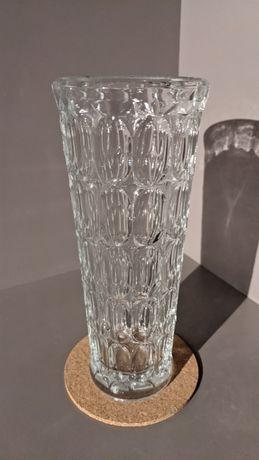 Wazon fasolki oliwki Ząbkowice szkło kolorowe