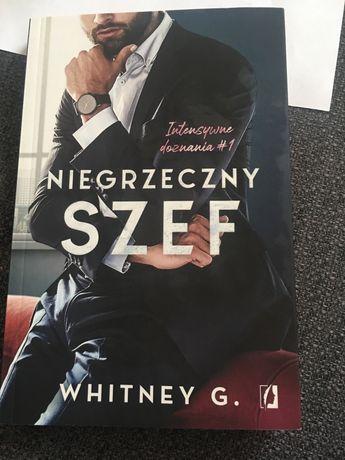 Ksiazka Whitney G. Niegrzeczny szef
