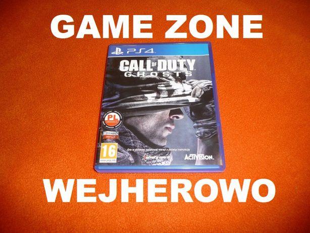 Call of Duty GHOST PS4 + Slim + Pro = PŁYTA PL Wejherowo