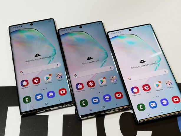 Zadbany Samsung Galaxy Note 10 Plus 256gb 12gb Aura Glow