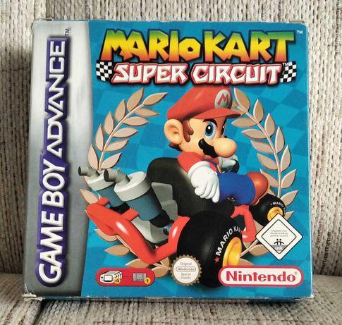 Nintendo GameBoy Advance GBA - Mario Kart: Super Circuit BOX