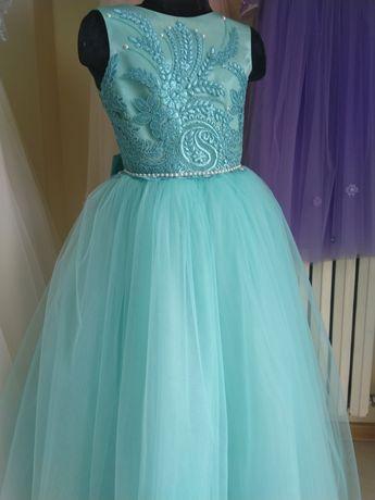 Платье для девочки 5-6 лет,детское платье на выпускной