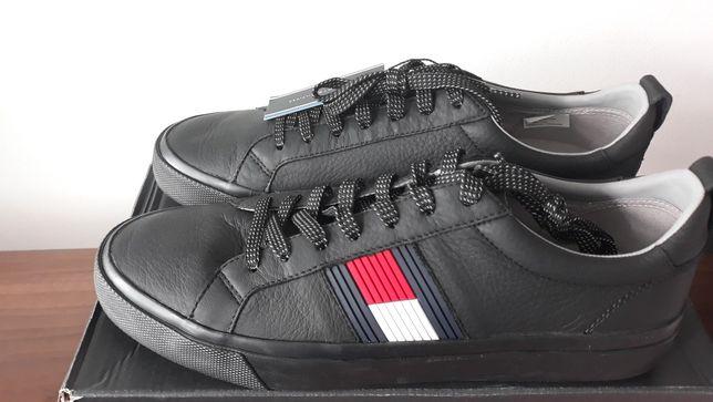 Nowe buty Tommy Hilfiger 45 skóra