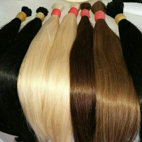 Волосы для наращивания славянские 40-80см!