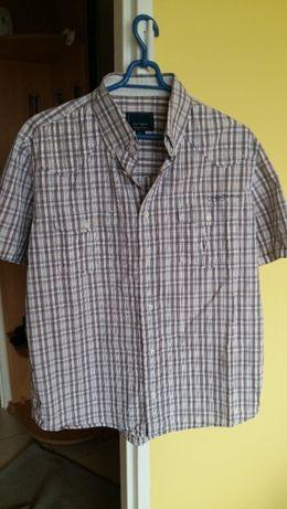 Koszula męska Tatuum krótkim rękawem