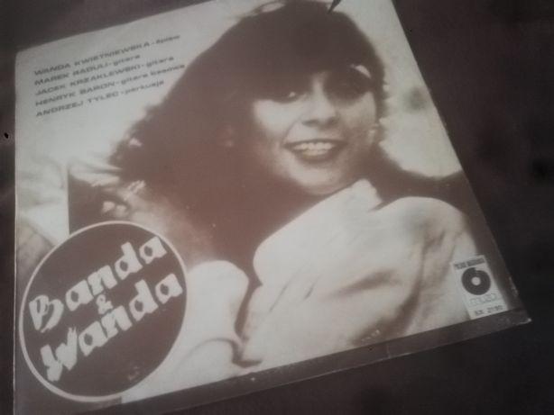 Płyta winylowa banda i wanda