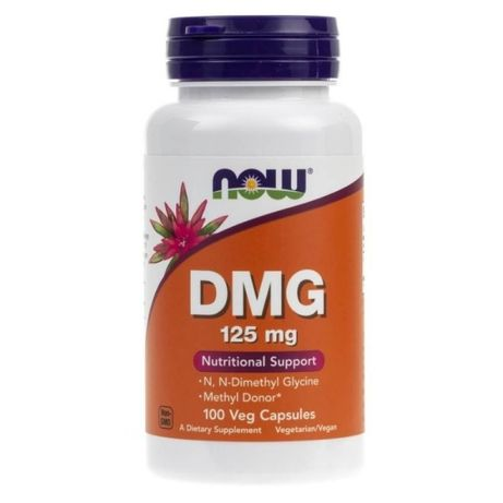 DMG (Dimethylglycine) 125mg - 100 vcaps NOW Foods